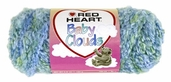 Red Heart Baby Clouds Yarn - Peekaboo