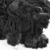 Red Heart Boutique Chic Yarn - Ebony