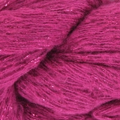Red Heart Boutique Rigoletto Metallic Yarn - Hot Pink
