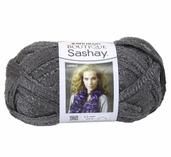 Red Heart Boutique Sashay Yarn - Grey