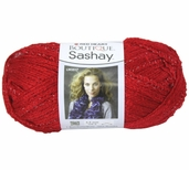 Red Heart Boutique Sashay Yarn - Red