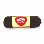 Red Heart LusterSheen Yarn - Chocolate