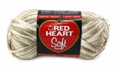 Red Heart Soft Yarn - Vanilla Swirl