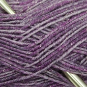 Red Heart Stardust Yarn - Purple