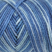 Red Heart Super Saver Yarn - Economy Size - Blue Tones