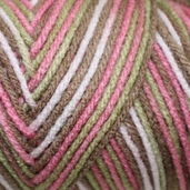 Red Heart Super Saver Yarn - Economy Size - Pink Camo