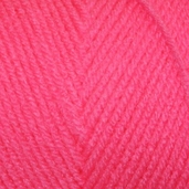 Red Heart Super Saver Yarn - Economy Size - pretty n' Pink