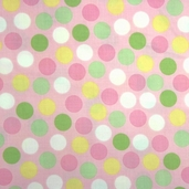 Remix Cotton Fabric - Dots Blush DISCONTINUED