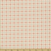 Renaissance Cotton Fabric - Pink Plaid - CLEARANCE PRICE IS FOR 7/8 YARD
