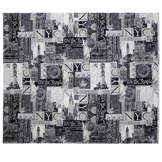 Renaissance Man We the People Cotton Fabric - Steel