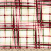 Return to Romance Cotton Fabric - Red