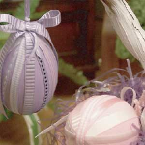 Ribboned Spring Egg