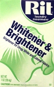 Rit Laundry Treatment Powder Fabric Whitener and Brightener