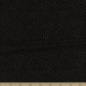 River Mist Dot Cotton Fabric - Black