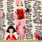 Rivoli Cotton Fabric - Rivoli Girl
