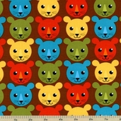 Roar Cotton Fabric - Bermuda APP-12522-237