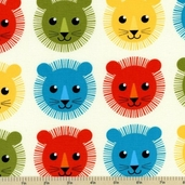 Roar Cotton Fabric - Bermuda APP-12525-237