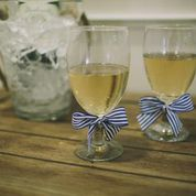 Rope Wrapped Stemware