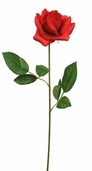Rose Spray Open 20 in Pkg of 12 - Red