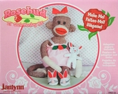 Rosebud Sock Monkey Kit