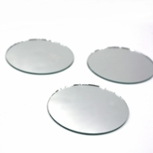 Round Craft Mirror 2.5 in - 4 Pkgs