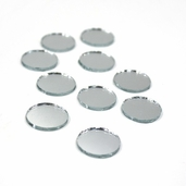 Round Craft Mirror 3/4 Inch - 6 Pkgs