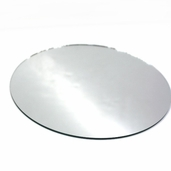 Round Craft Mirror 6 in - 4 Pkgs