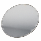 Round Craft Mirror - Scalloped Edge 4 in - 6 Pkgs