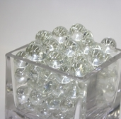 Round Luster Marbles - Clear