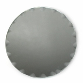 Round Scalloped Craft Mirror 4 in - 2 Pkgs