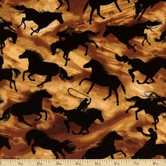 Western Themed Fabric
