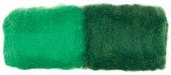Roving 100% Wool - Forest Green/Emerald