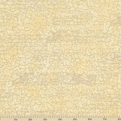 Royal Peacocks Crackle Cotton Fabrics - Antique Gold