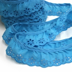 Ruffled Eyelet Trim
