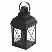 Rustic Lantern with Handle 15in