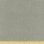 Rustic Woven Small Check Cotton Fabric - Light Gray 221