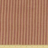 Rustic Woven Stripe Cotton Fabric - Natural 586