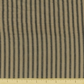 Rustic Woven Stripe Cotton Fabric - RW0045 - CLEARANCE