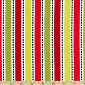 S'Noel Stripe Cotton Fabric