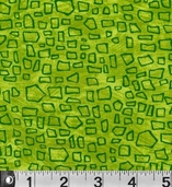 Safari So Good Cotton Fabric  - Green