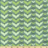 Salt Air Fish Tales Cotton Fabric - Mist 37026-13