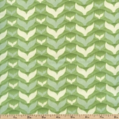 Salt Air Fish Tales Cotton Fabric - Seafoam 37026-23