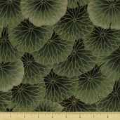 Sanctuary Cotton Fabric - Green SANC-08
