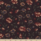 Sandhill Plums Cotton Fabric - Bush Plum - Clearance
