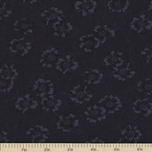 Sandhill Plums Cotton Fabric - Just Preserves Black