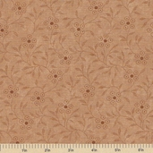 Sandhill Plums Cotton Fabric - Pretty Floral Tan