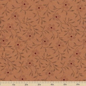 Sandhill Plums Cotton Fabric - Pretty Gold - Clearance