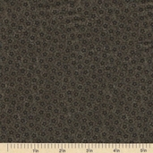 Sandhill Plums Cotton Fabric - Small Floral Green