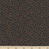 Sandhill Plums Cotton Fabrics - Small Floral Green