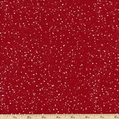 Santa's Gifts Christmas Dots Cotton Fabric - Red 1862-67493-311S